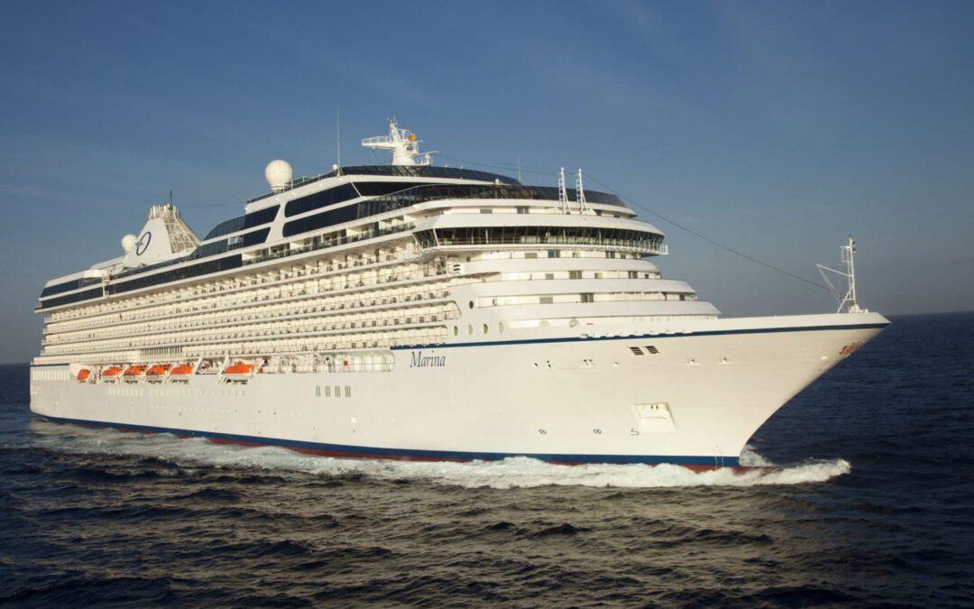 Oceania Cruises gaat in augustus weer varen met de Marina