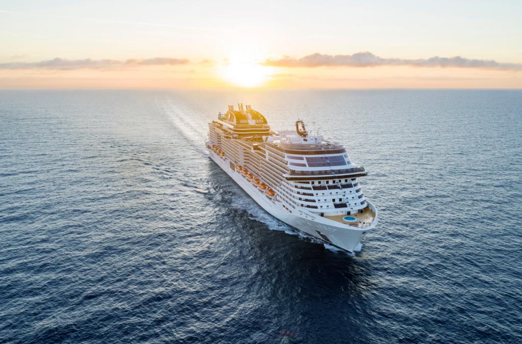 MSC Virtuosa start donderdag het cruisen vanuit het Verenigd Koninkrijk