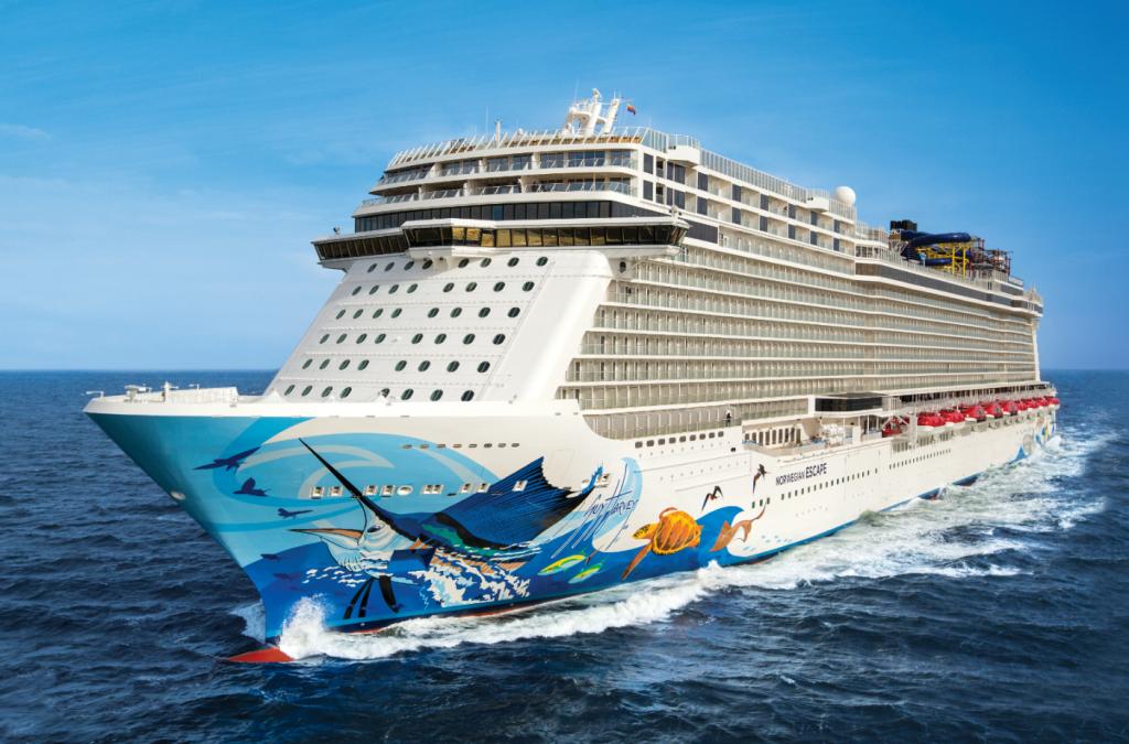Norwegian Escape donderdag naar Cruise Port Rotterdam voor 'technical call'