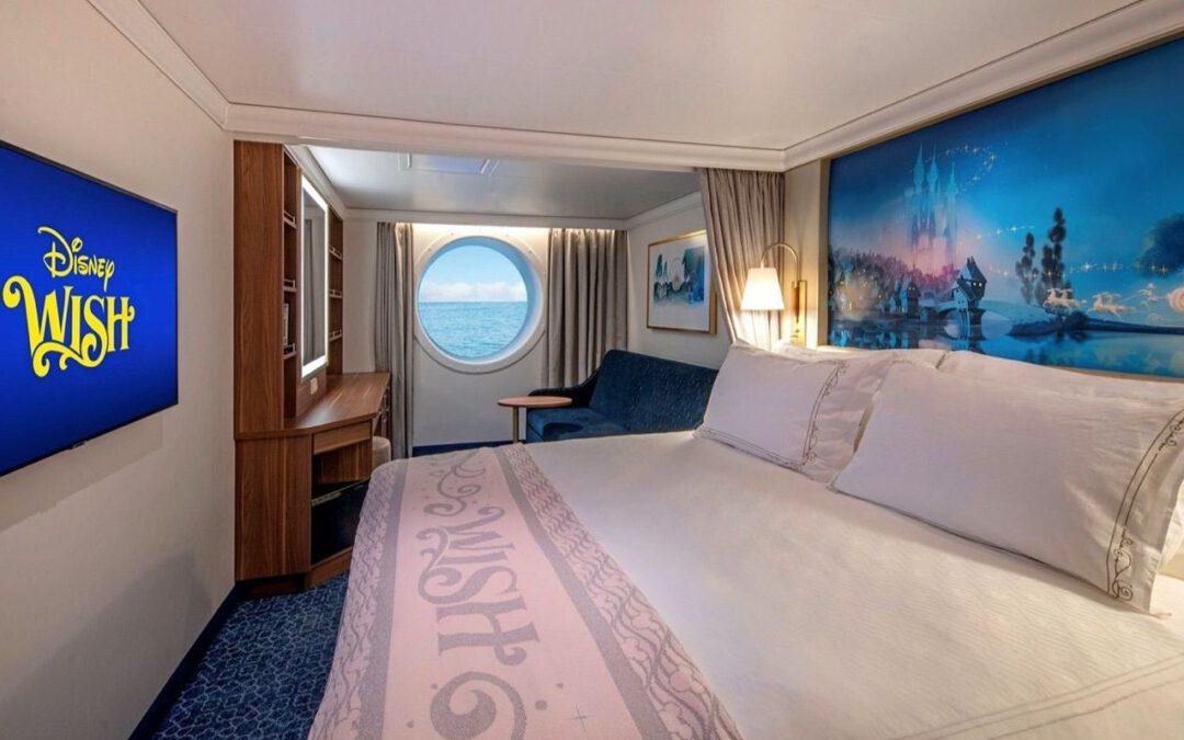Video: Een tour langs de hutten van Disney's nieuwste cruiseschip