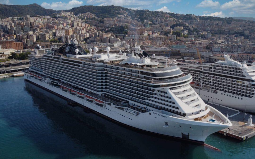 MSC Seaside keert terug naar zee met nieuwe bestemmingen in de Middellandse Zee