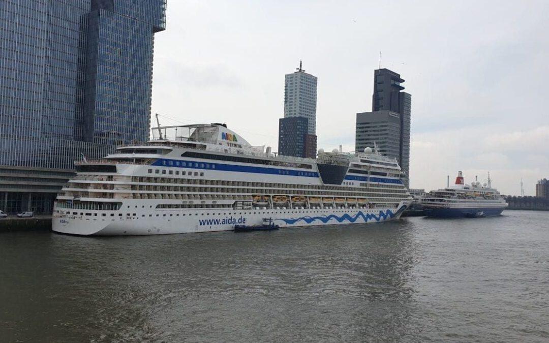 'AIDA Cruises doet begin augustus Nederland weer aan'