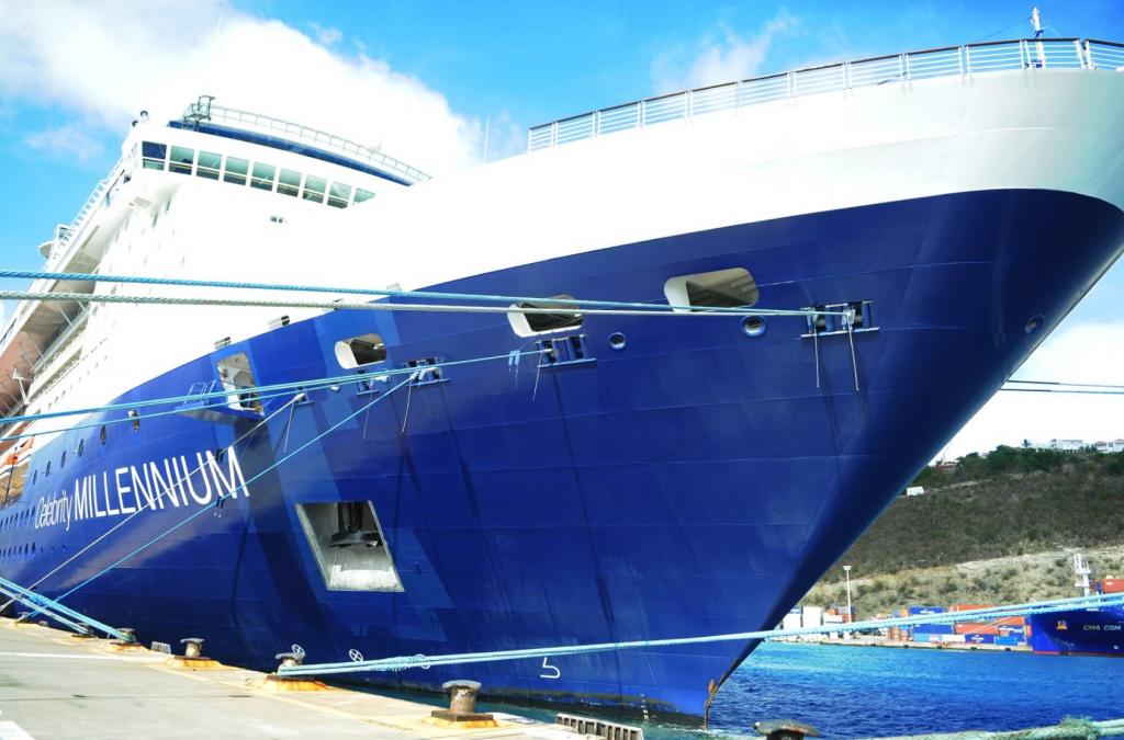 Celebrity Millennium begonnen met cruises vanuit St. Maarten
