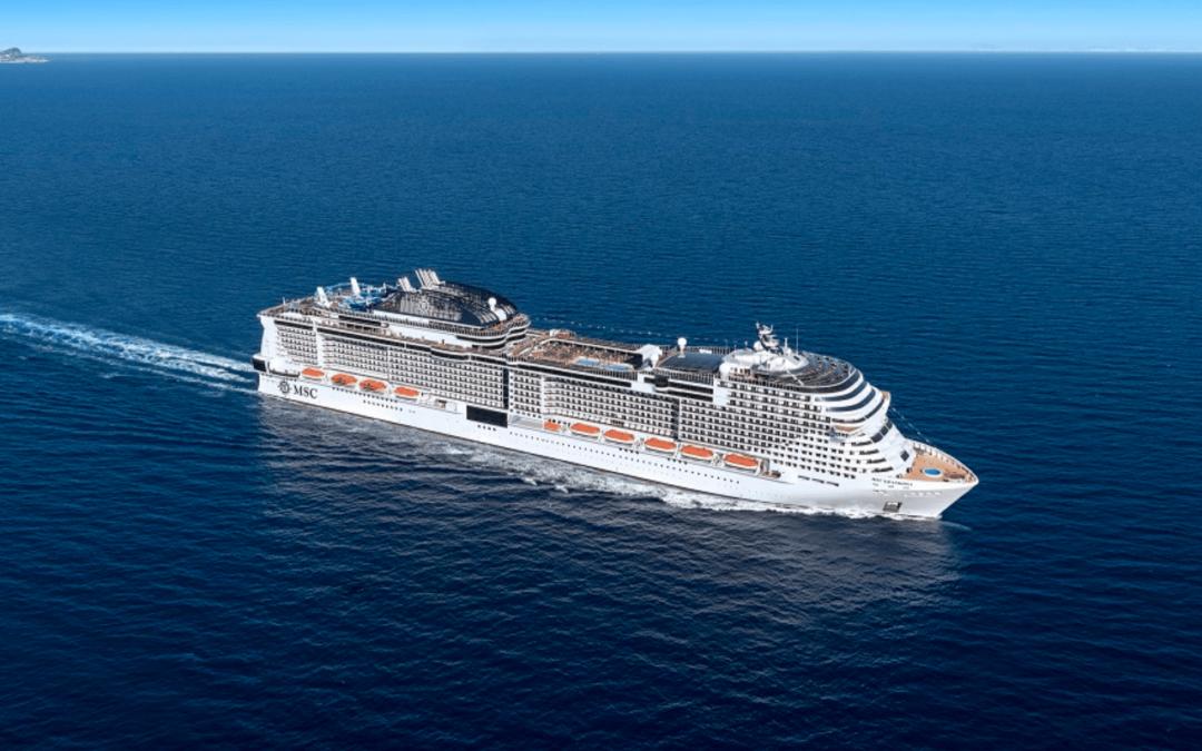 MSC Cruises hervat vanaf 26 juni haar activiteiten in Spanje
