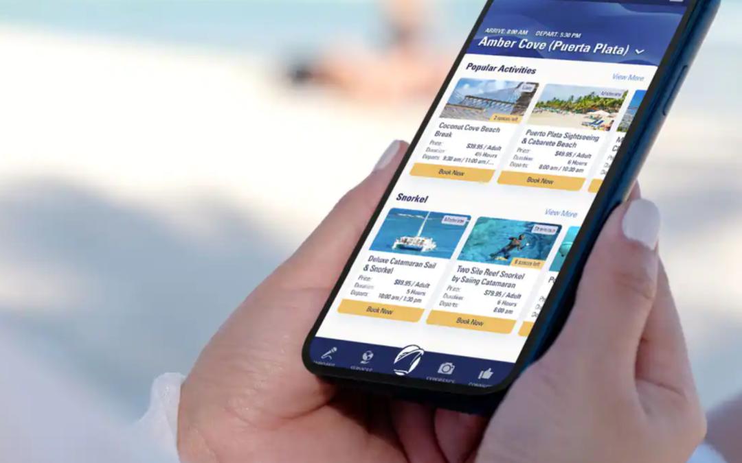 Holland America Line breidt functionaliteiten Navigator App uit