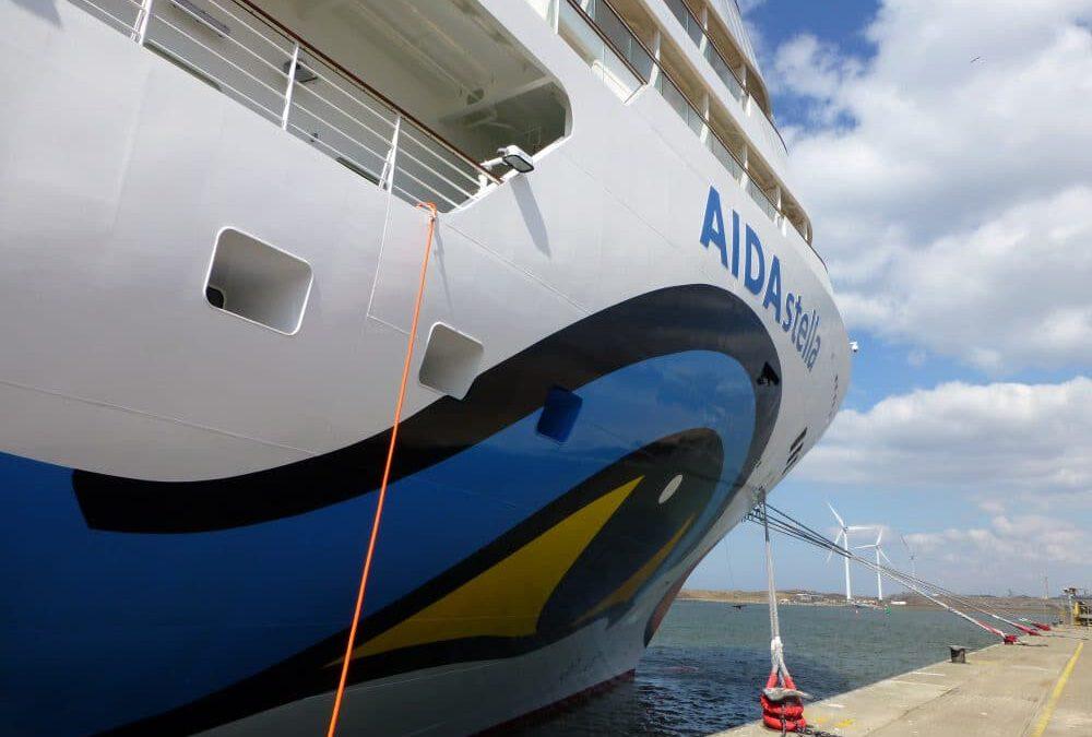 AIDA start in Middellandse Zee met AIDAstella