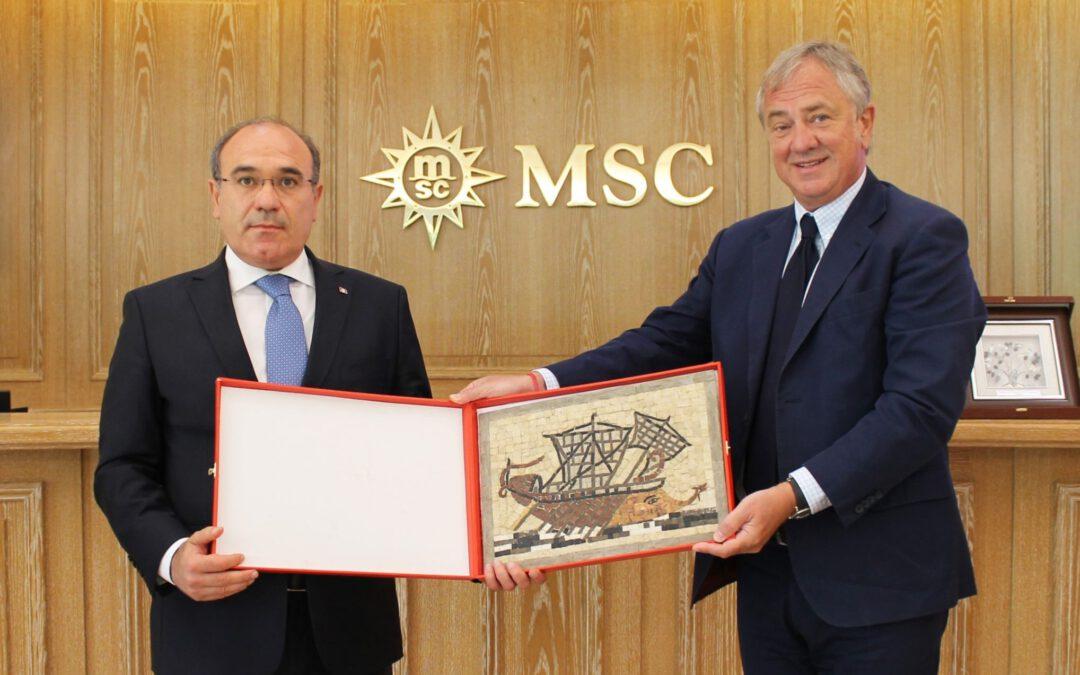 MSC Opera bezoekt in 2022 27 maal Tunesië
