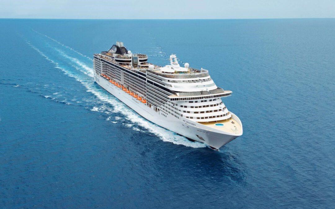 MSC Splendida hervat cruises in de Middellandse Zee