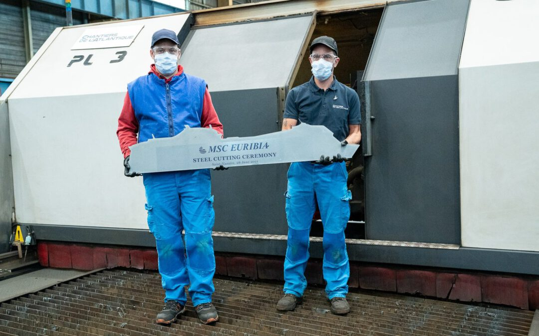MSC Cruises start bouw van LNG-schip MSC Euribia