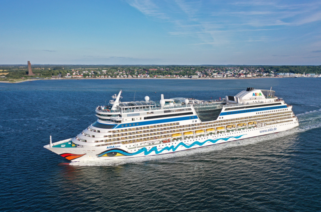 AIDA Cruises herstart AIDAluna in september vanuit Kiel