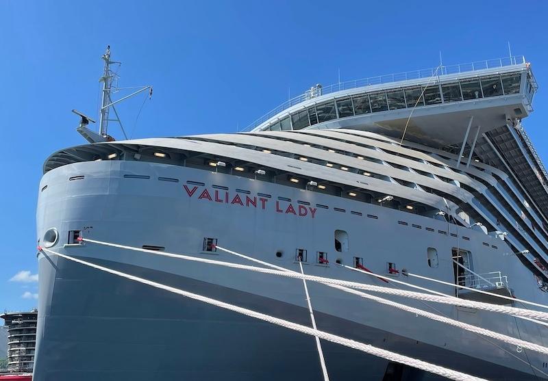 Virgin Voyages viert dubbele mijlpaal bij Fincantieri