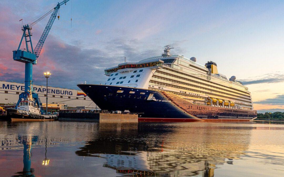 Eerste internationale cruise Saga Cruises naar Rotterdam en IJmuiden