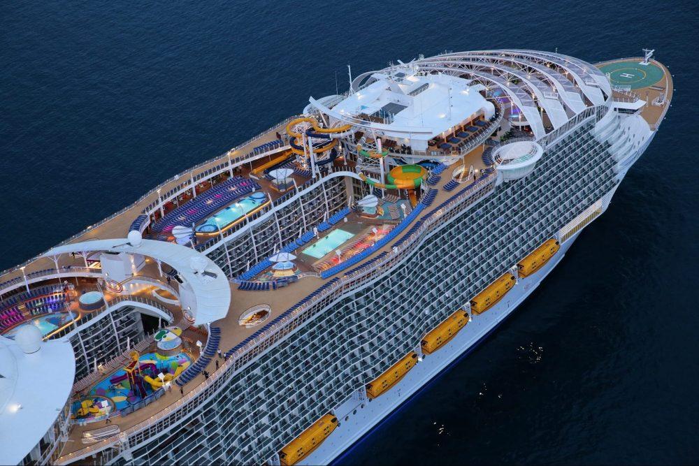 Harmony of the Seas als derde schip voor Royal Caribbean in Europa gestart