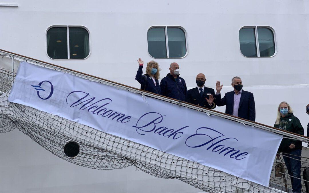 Oceania Cruises terug in de vaart met de Marina