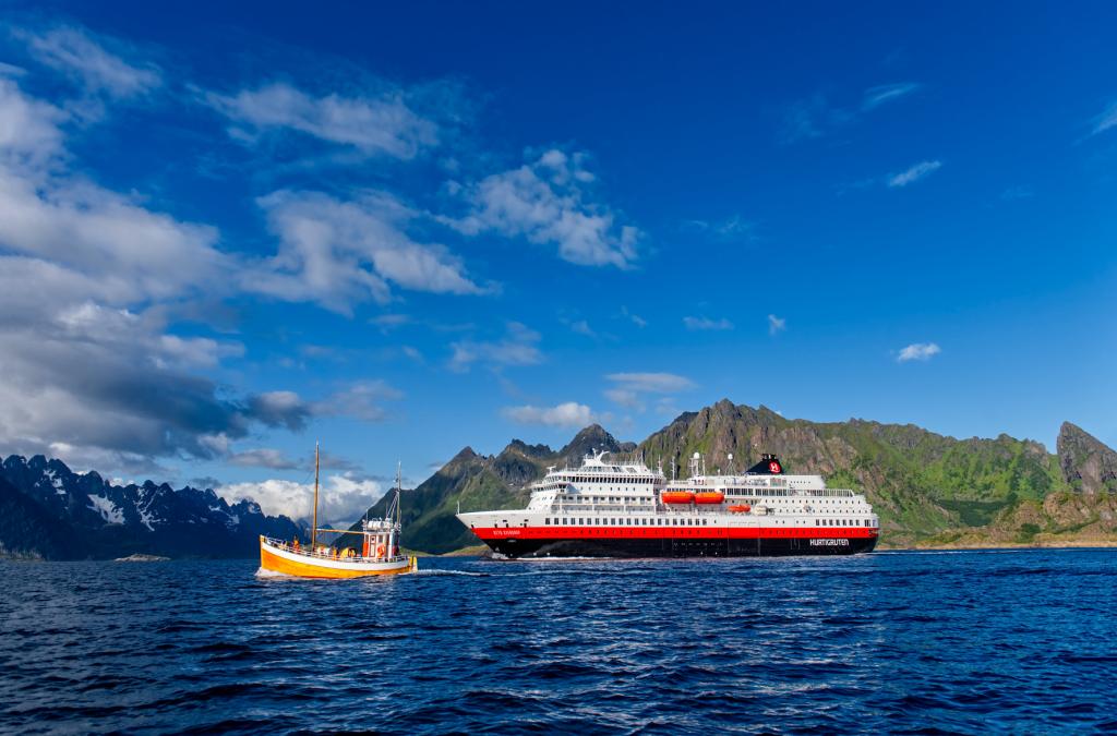 Hurtigruten hervat expeditiecruises met MS Otto Sverdrup