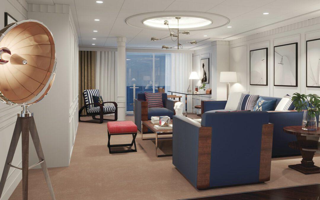 Oceania Cruises voor nieuwste schip in zee met Ralph Lauren