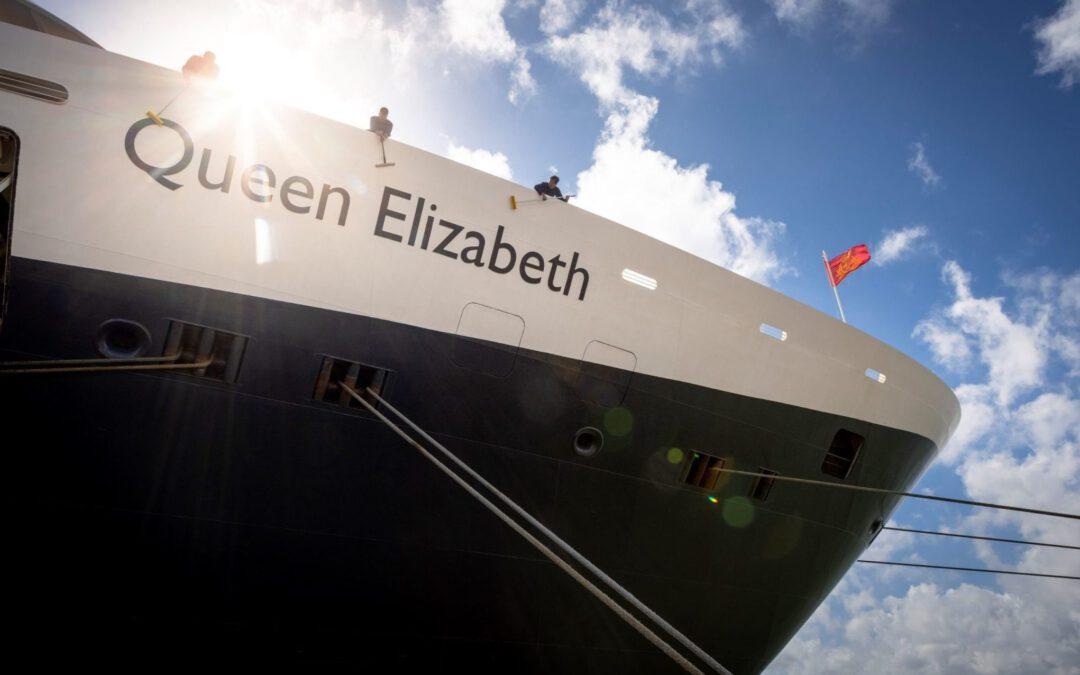 Cunard maakt zich op voor herstart Queen Elizabeth