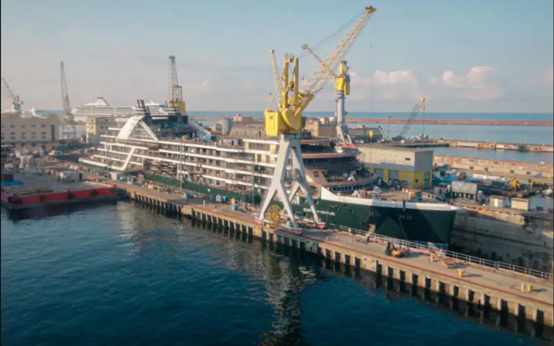 Seabourn kondigt nieuwe datum aan voor inaugurele cruise Seabourn Venture