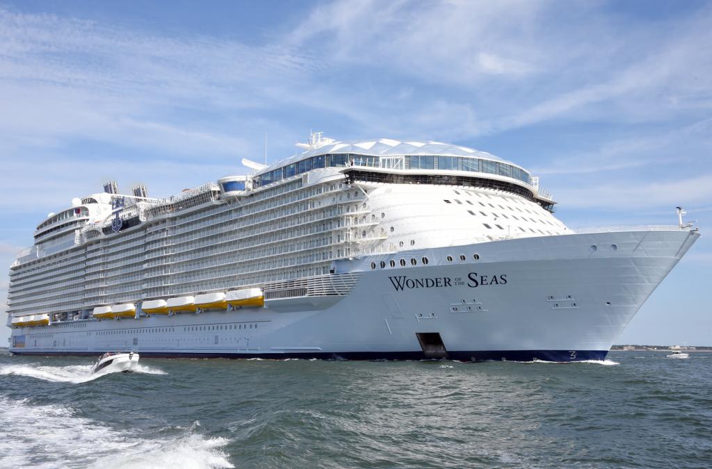 Video's: Eerste zeetesten Wonder of the Seas van start