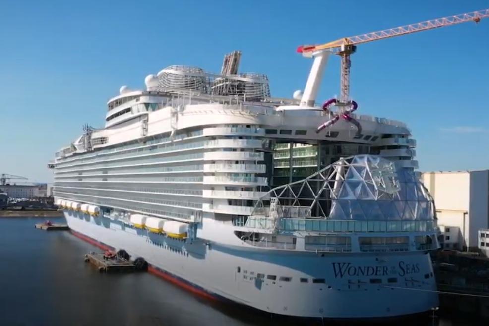 Video: Stand van zaken bouw Wonder of the Seas