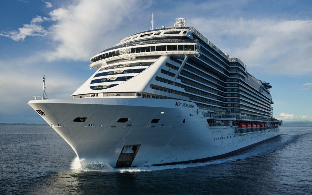 MSC Cruises verwelkomt eerste gasten aan boord van MSC Seashore