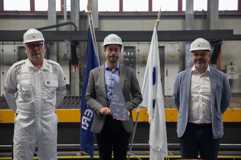 Fincantieri start met bouw nieuwe 'Sphere' klasse schip (LNG) voor Princess Cruises
