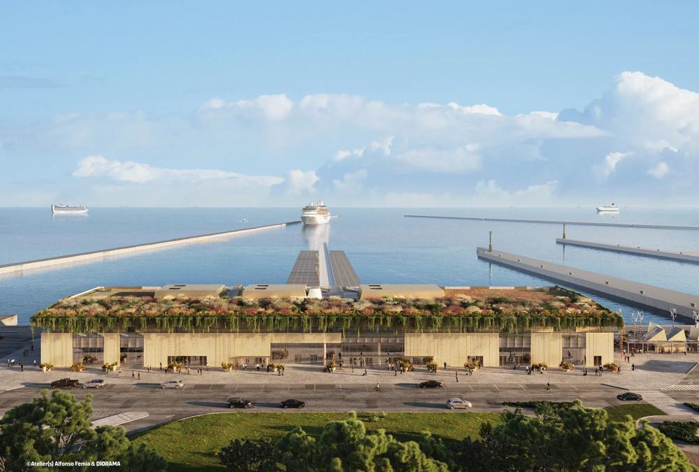 Nieuwe cruiseterminal voor Ravenna door Royal Caribbean Group
