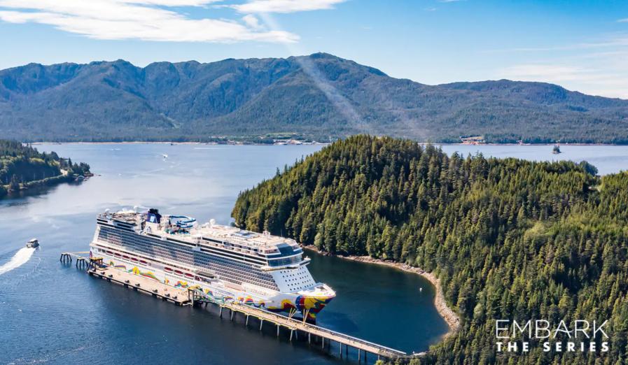 """Kijk mee naar de laatste aflevering van Embark – The Series """"Adventure Awaits"""" van Norwegian Cruise Line"""
