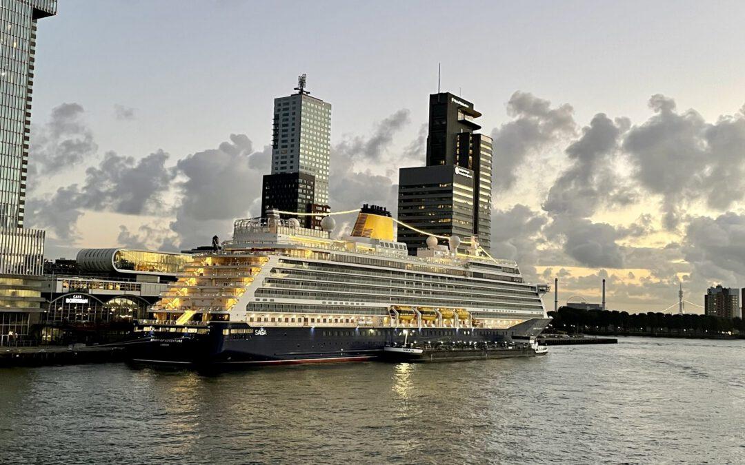 Fotoreportage: Maiden Call Spirit of Adventure in Rotterdam