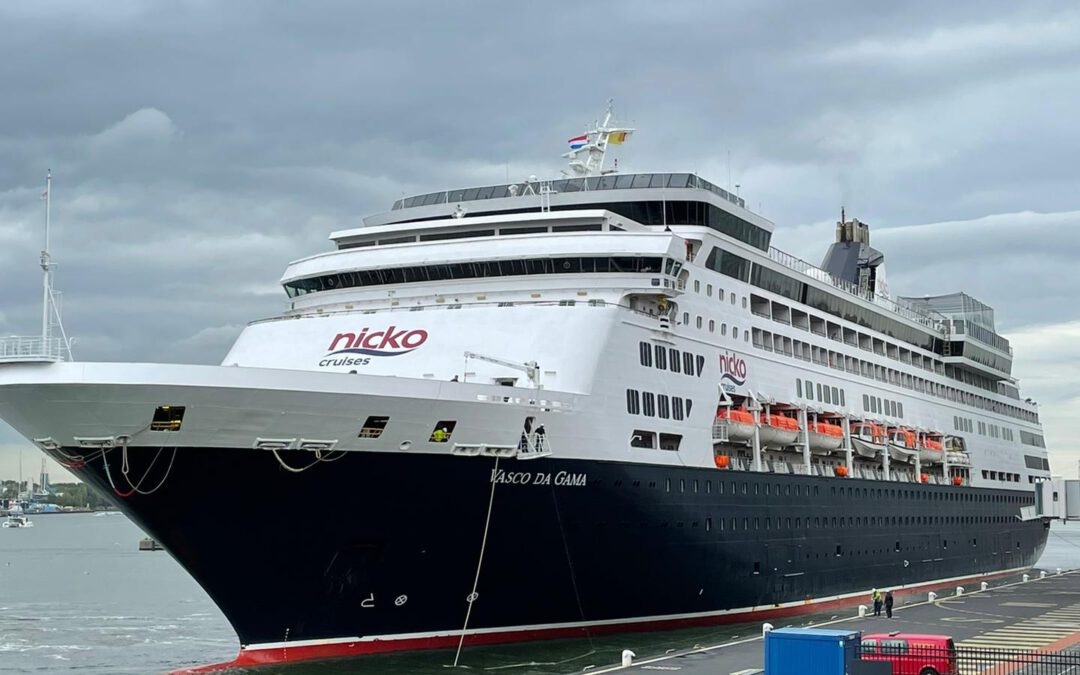 Fotoreportage: Aankomst Vasco da Gama in Amsterdam