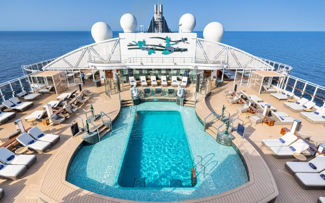 MSC Seashore wordt gedoopt op privé-eiland van MSC Cruises